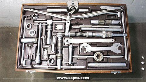 Campagnolo Tool Kit Case Framebuilder Complete Italian Thread Fahrrad Werkstatt Workshop