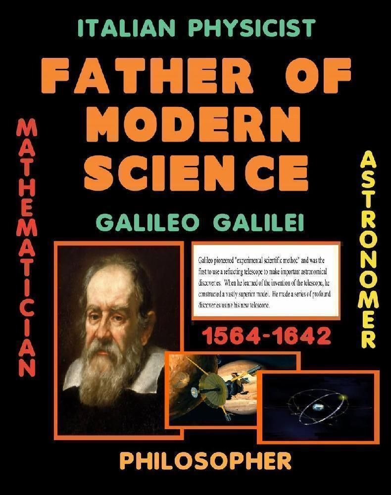Make A Science Fair Project About Galileo Galilei Famous Scientist Poster Ideas For Your Kids Famous Scientists Posters Famous Scientist Science Fair Projects