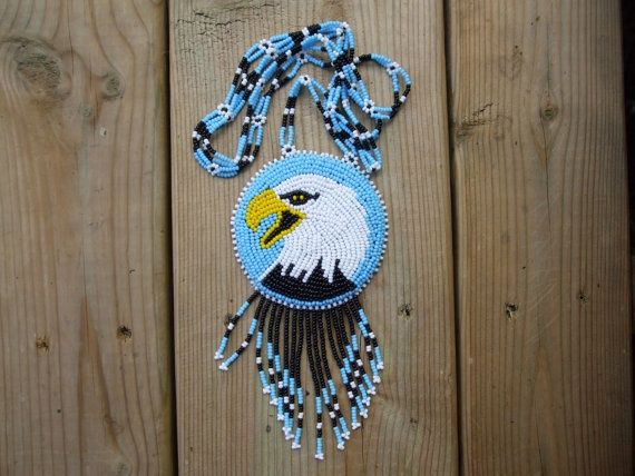 Eagle Beadwork Patterns Native Eagle Medallion By