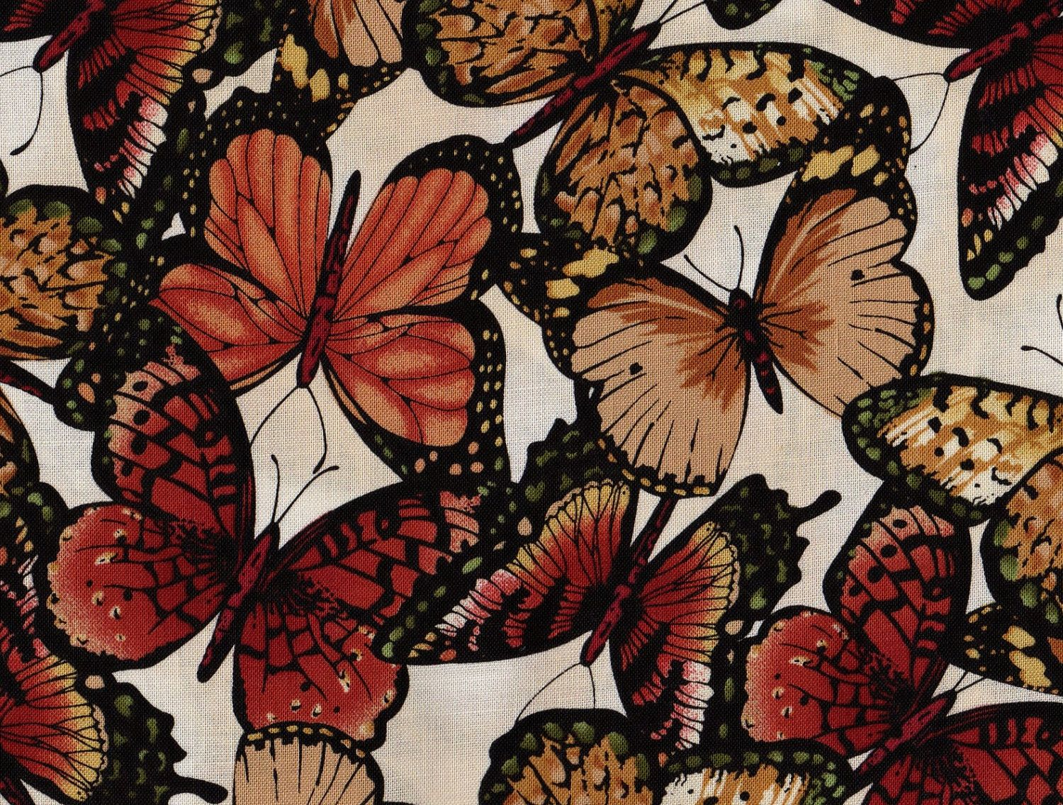 Butterfly Fabric Monarch Timeless