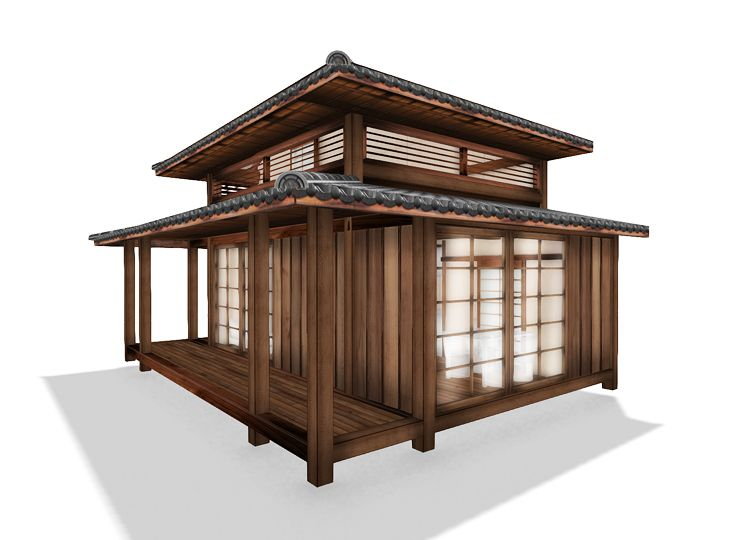 Japanese Bungalow Design - Bessou Brazil gricel Pinterest Casa