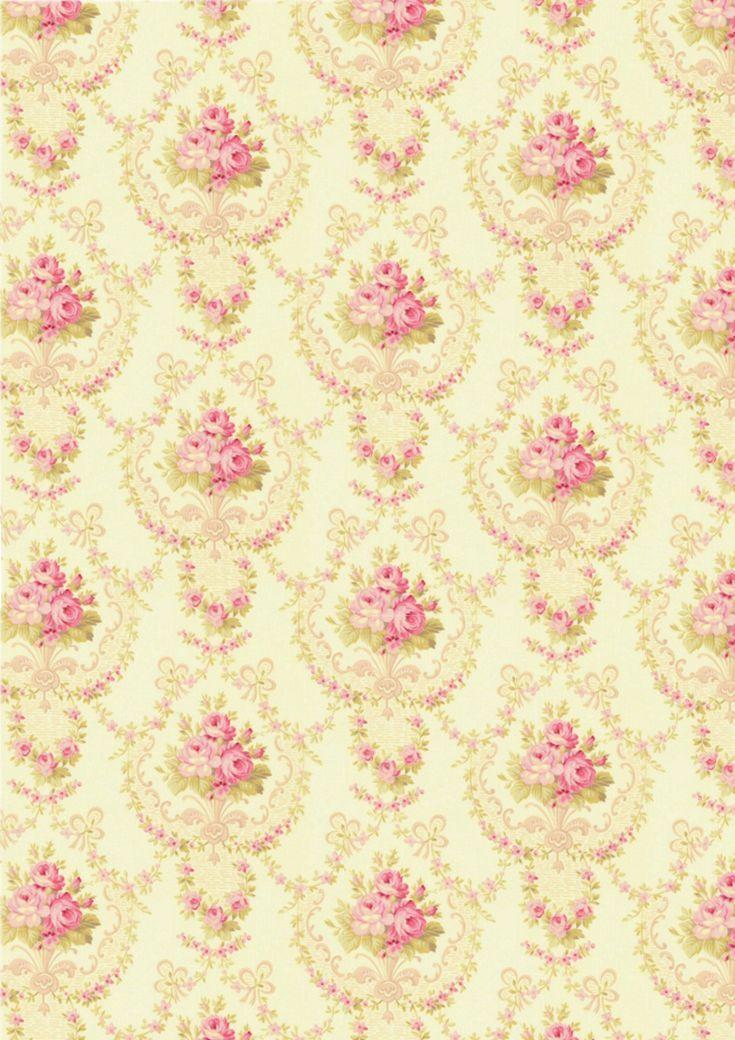 Shabby Chic Wallpaper Designs