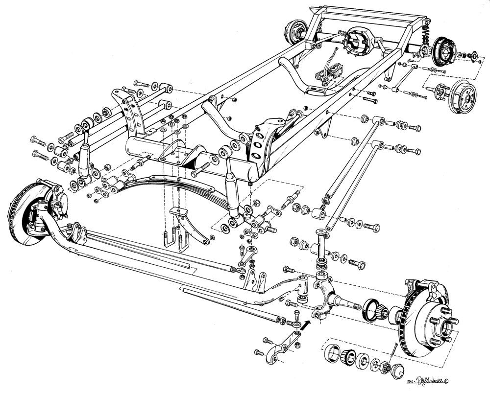 1923 Model T Wiring Diagram