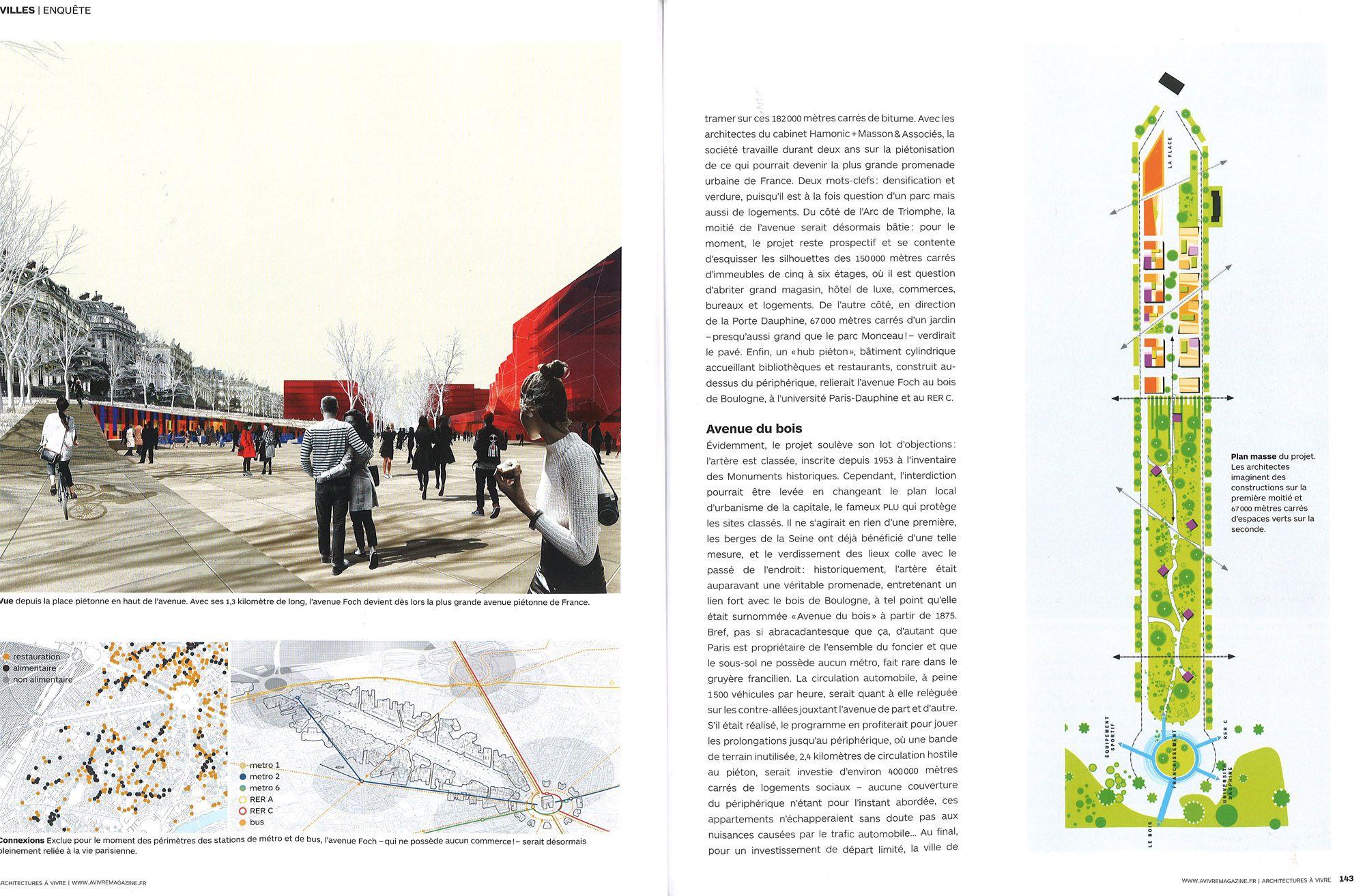Avenue Foch - Un projet de l\'Etoile à la porte d\'Auteuil - Avenue ...