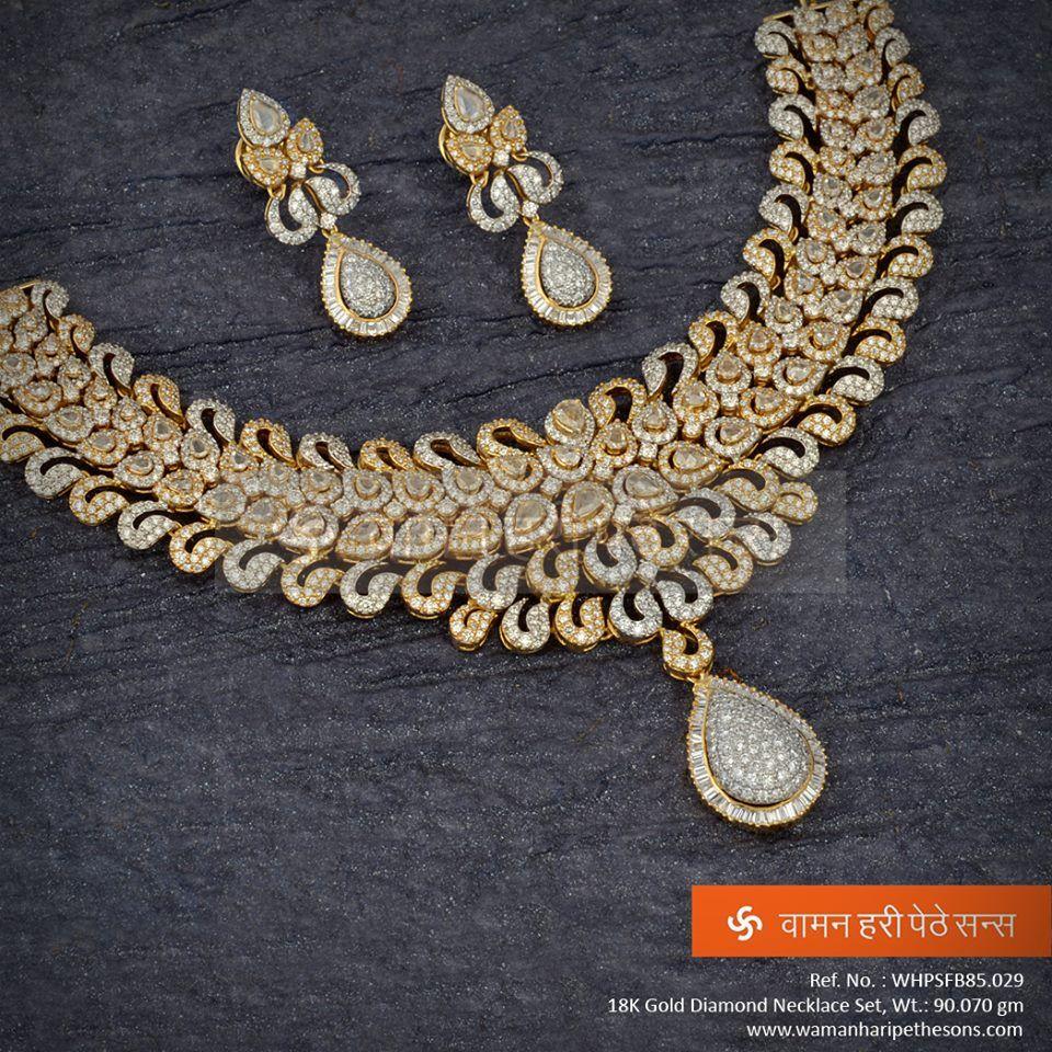 Amazingly stylish diamond necklace just you add up your beauty