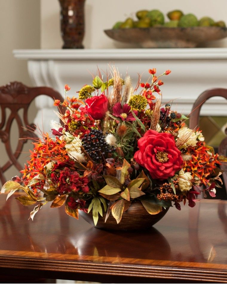 Resultat du0027imatges de centro de mesas con flores secas INMEDIAT - flores secas