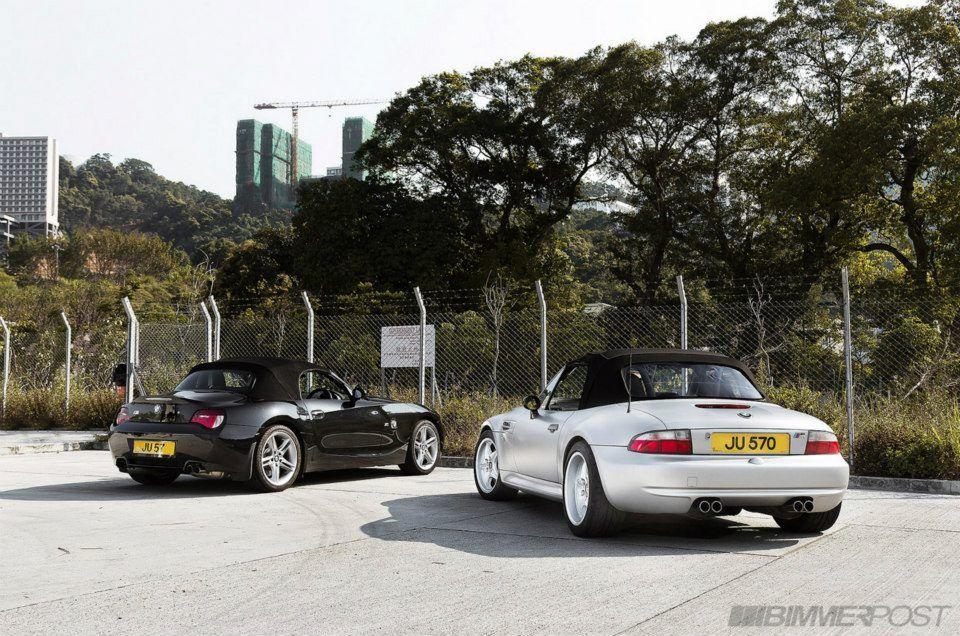 BMW M Roadsters Z4 vs Z3 Carros y motos y Motos