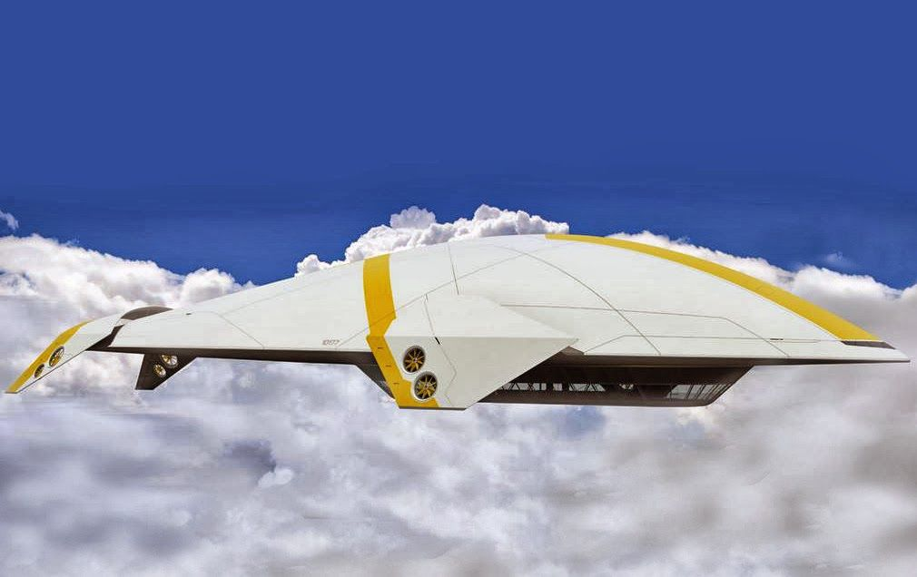 airships   FLYING HOUSE: Futuristic Airships and Flying Yachts - made possible by ...