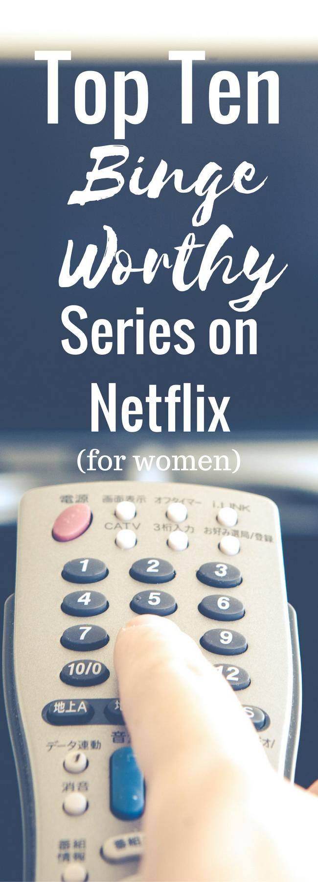 Top 10 Binge Worthy Shows on Netflix #seriesonnetflix