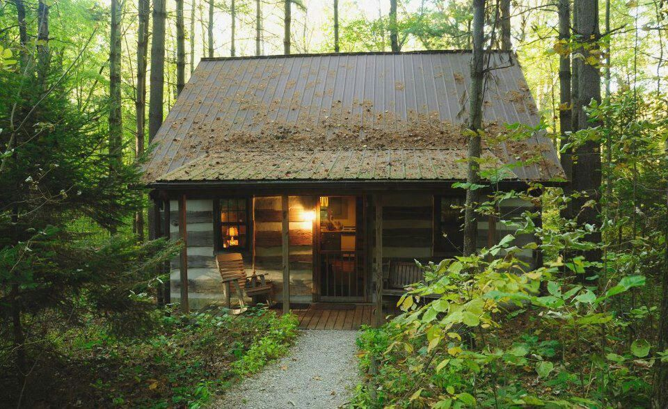 Cabin In The Woods Cabins Pinterest