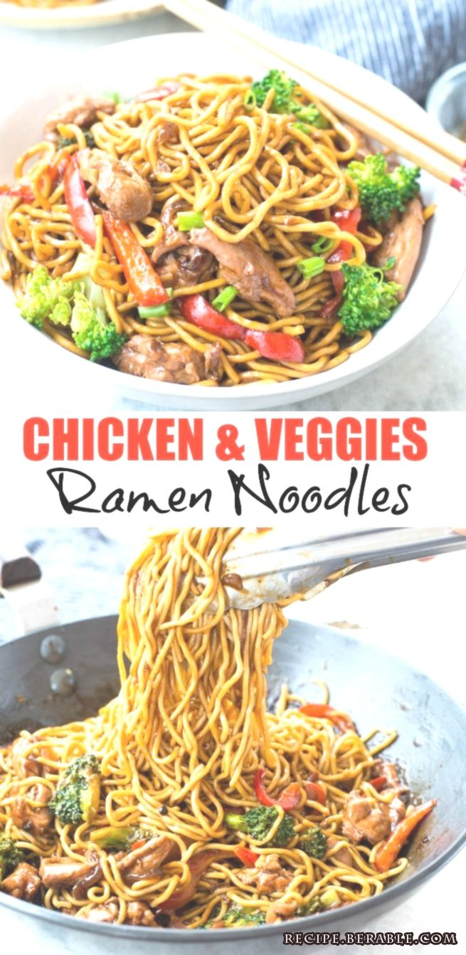 Chicken Ramen Noodle with a flavourful stir-fry saucetakes only 20 minutes to ... Chicken Ramen Noodle with a flavourful stir-fry saucetakes only 20 minutes to ... Chicken Ramen Noodle with a flavourful stir-fry saucetakes only 20 minutes to make andis better than take-out. This Easy Ramen Noodle recipe is a perfect mid-week dinner and customization to your preference.... -