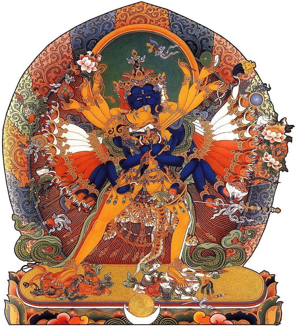 Калачакра | Тибетское искусство, Тибетский буддизм, Буддизм