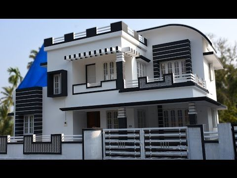 Athani 5 Cents Plot And 1700 Sq Ft Contemporary House For Sale
