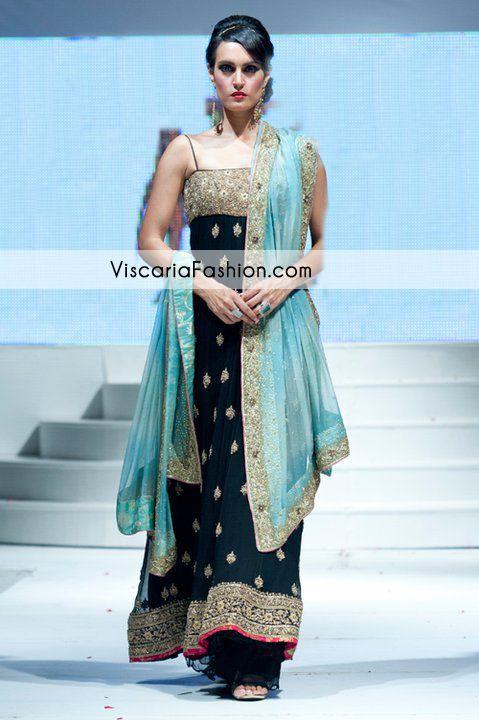 f32e8b21db Black Ferozi Formal Anarkali Pishwas Dress Formal Dresses Party Wear  Pakistani Formal Wear Party Dresses Casual Anarkali Pishwas Bridal Wedding