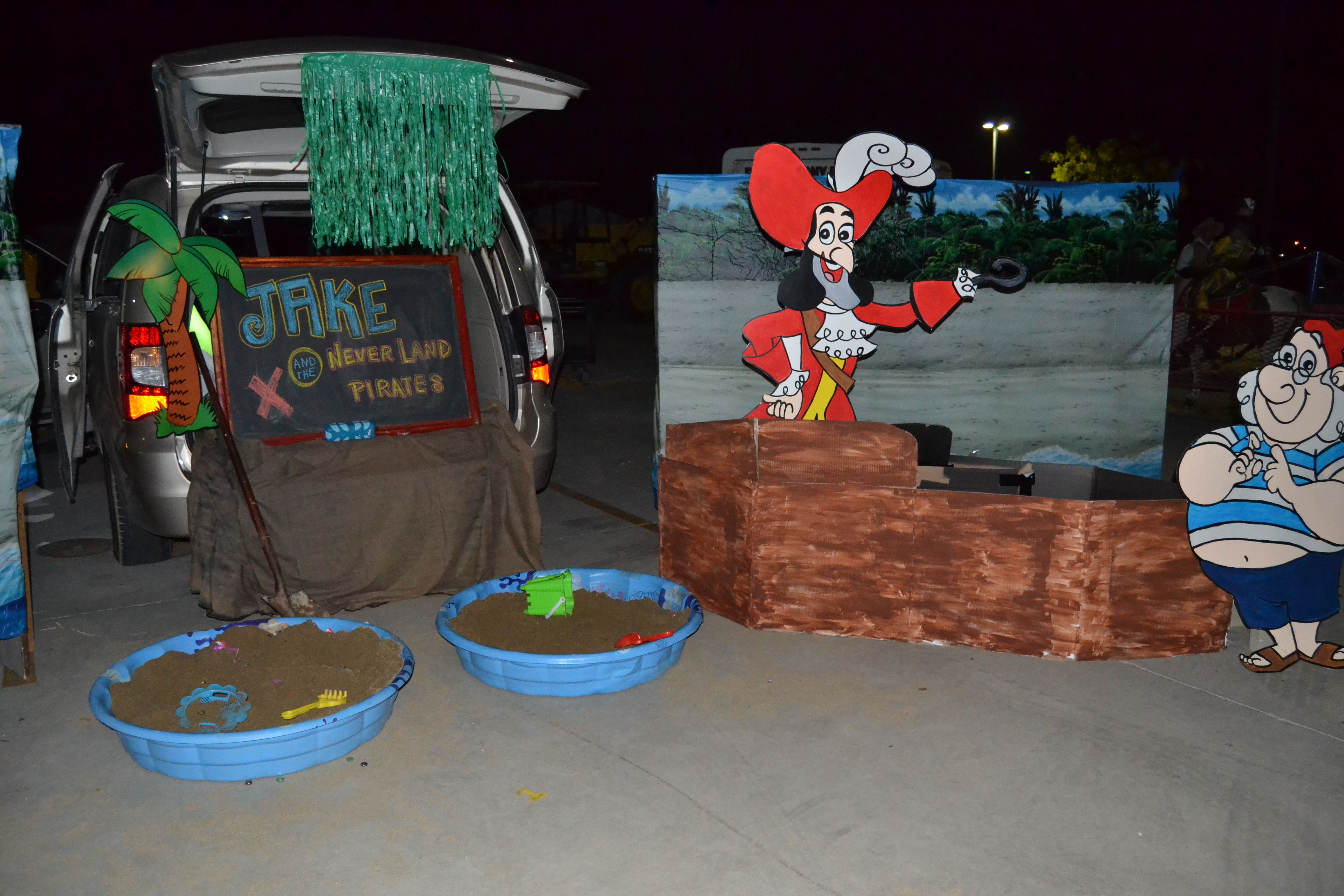 Jake And The Neverland Pirates Trunk Or Treat With Images