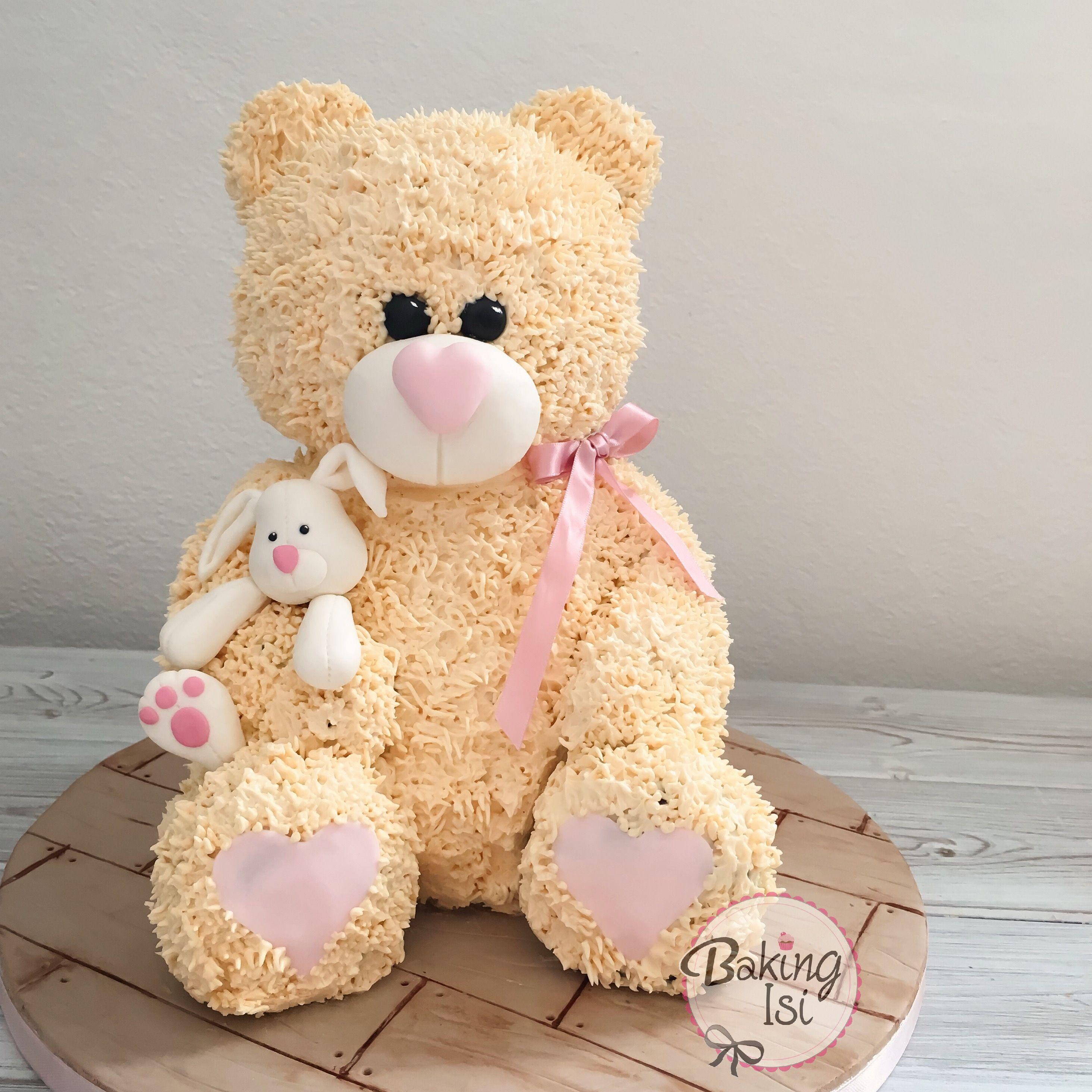 3d teddy bear cake bär torte torten pinterest party