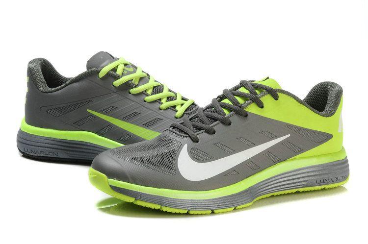 premium selection dbd28 0cf14 Youth Big Boys Nike Lunar Vapor Trainer Volt Cool Grey Reflective Silver  Lime Green