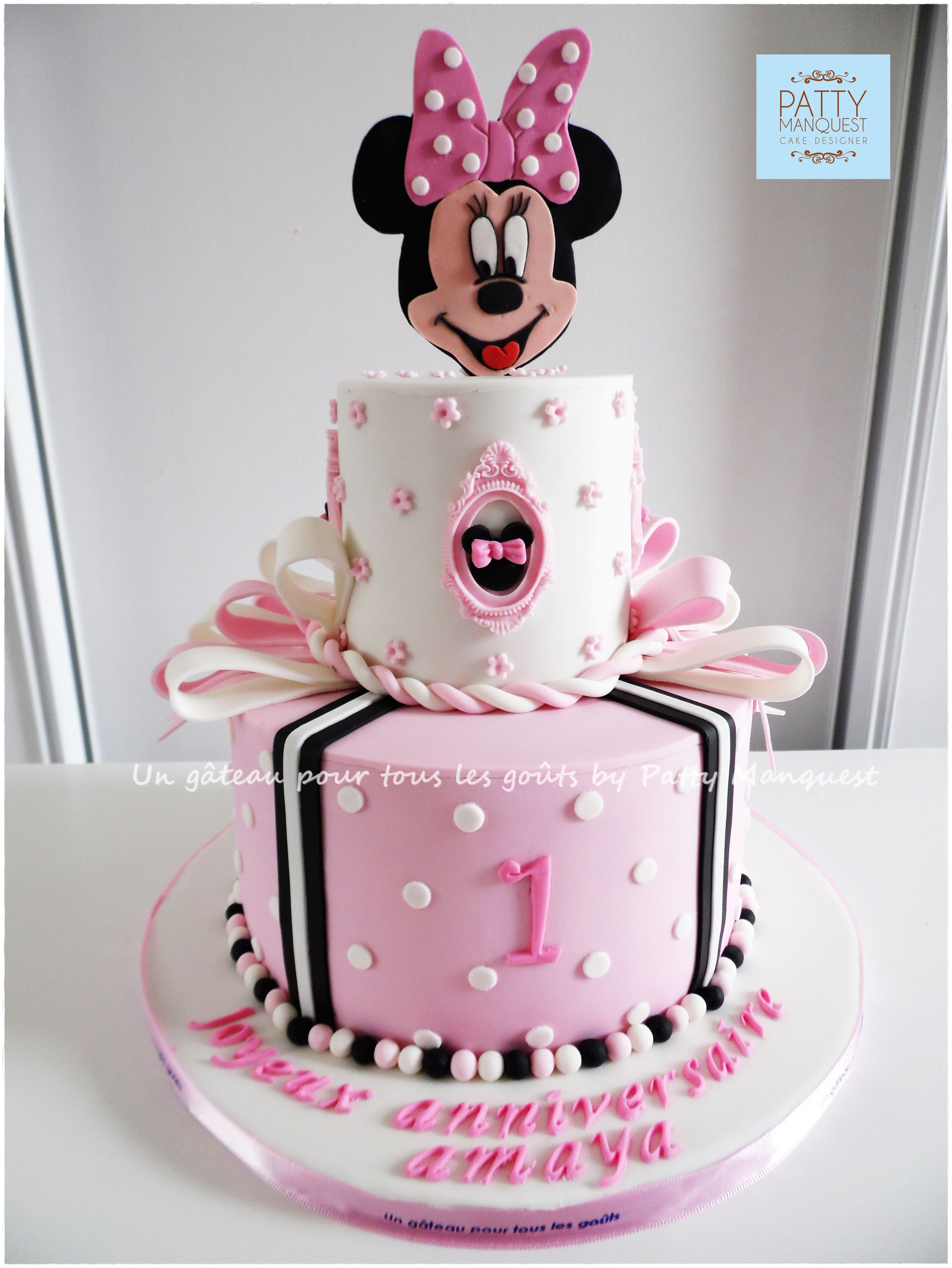 Minnie Torta De Cumpleanos G 226 Teau D Anniversaire