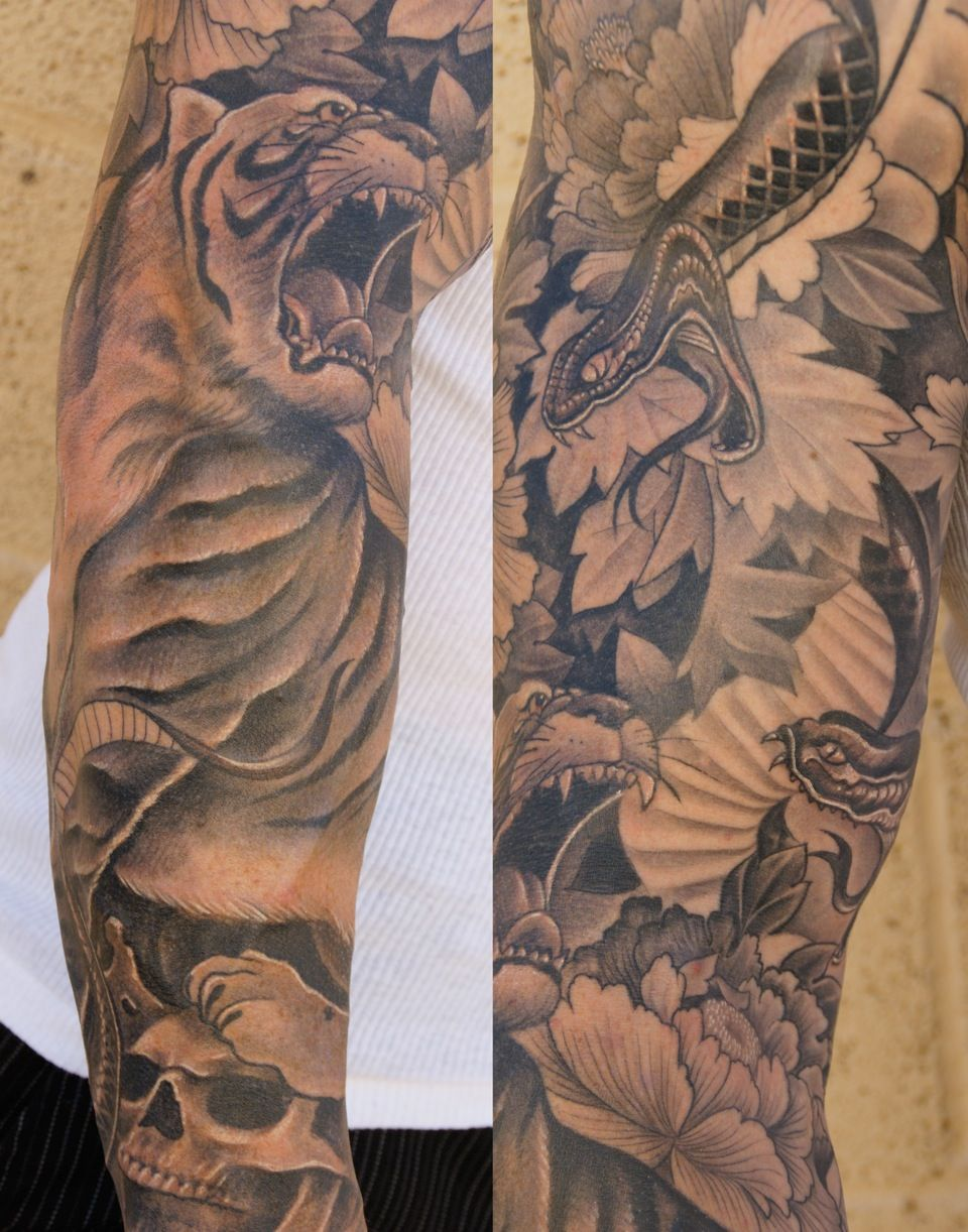 Japanese sleeve tattoos designs and ideas -  1 Tattoo Design Site Beautifully Crafted Http