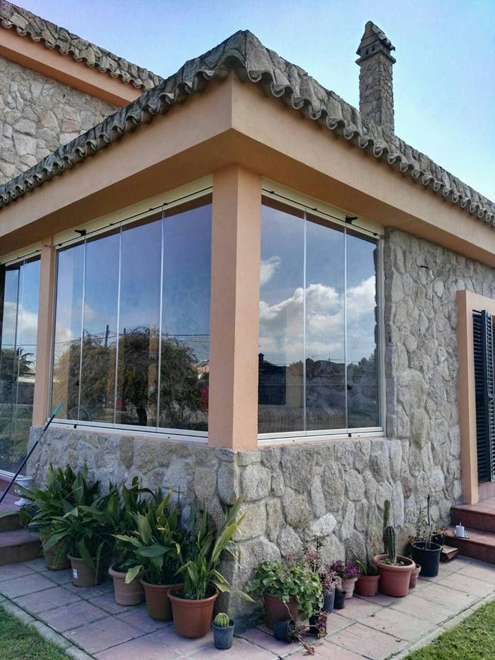 Cerramientos para ventanas y terrazas vidrio de 10mm de for Cerramientos de cristal para terrazas