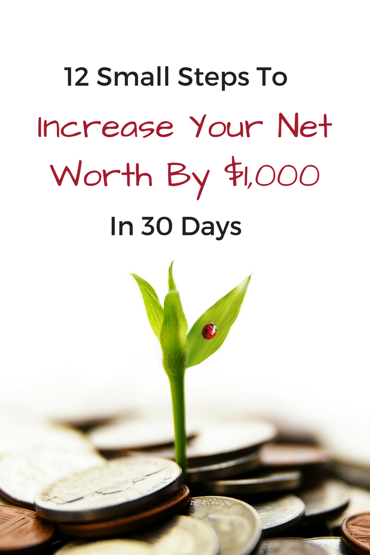 Whether you need to build your emergency fund or just want to increase your net worth by $1,000 this month, use these 12 steps to accomplish your goal easily.