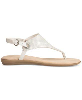 1b1ce5fd9452 Aerosoles Conchlusion T-Strap Slingback Thong Sandals