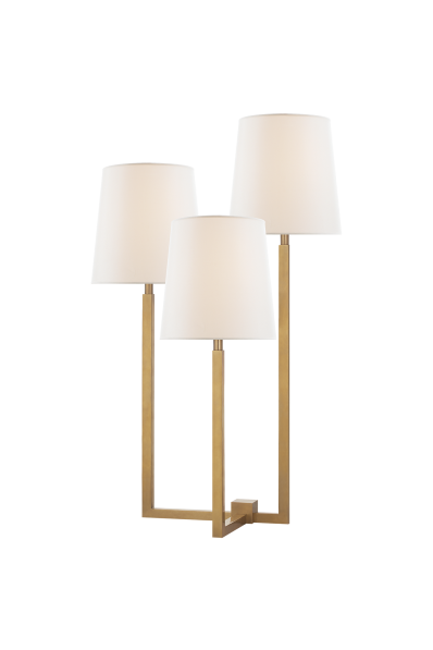 Margot medium triple arm table lamp