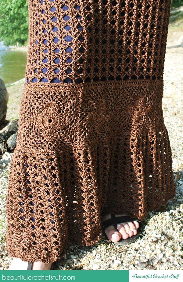 crochet-falda sin patrón | falda | Pinterest | Rock, Rock-Muster und ...