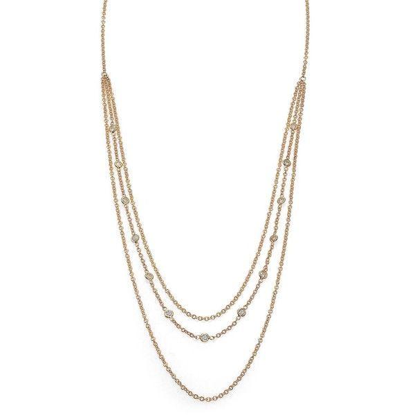 14-karat Rose Gold Diamond Body Chain - one size Jacquie Aiche TXEoSipy