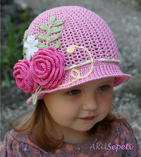 Pin von Kadinca örgü tasarimmm auf bebek şapkaları | Pinterest
