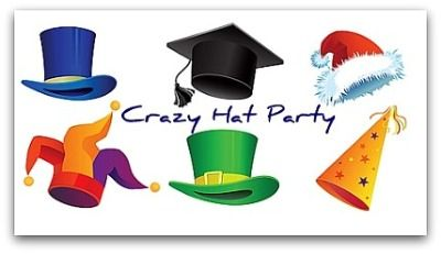 Crazy Hat Party For The Home Party Hats Party Themes