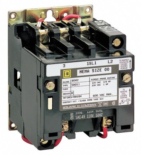 Square D Nema Magnetic Contactor 8502sdo2v02s Magnets Electricity Magnetic Motor