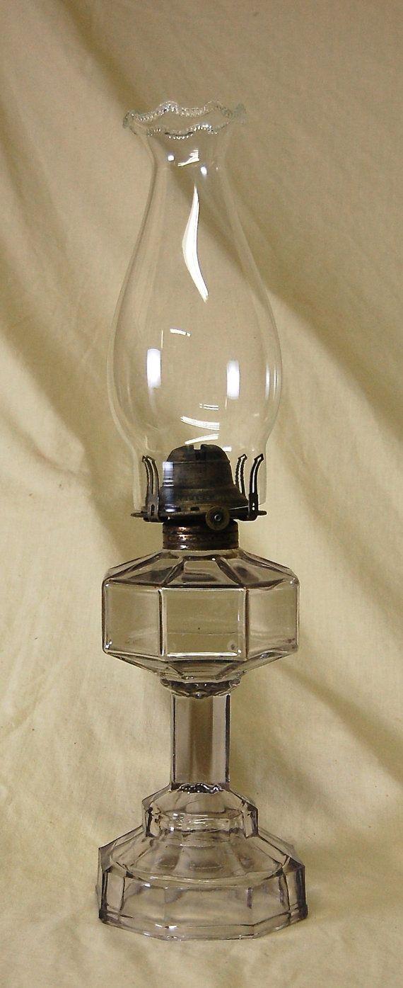 Antique Victorian Eapg Octavia Pattern By Agingbeautyboutique Antieke Lampen Lampen Antiek