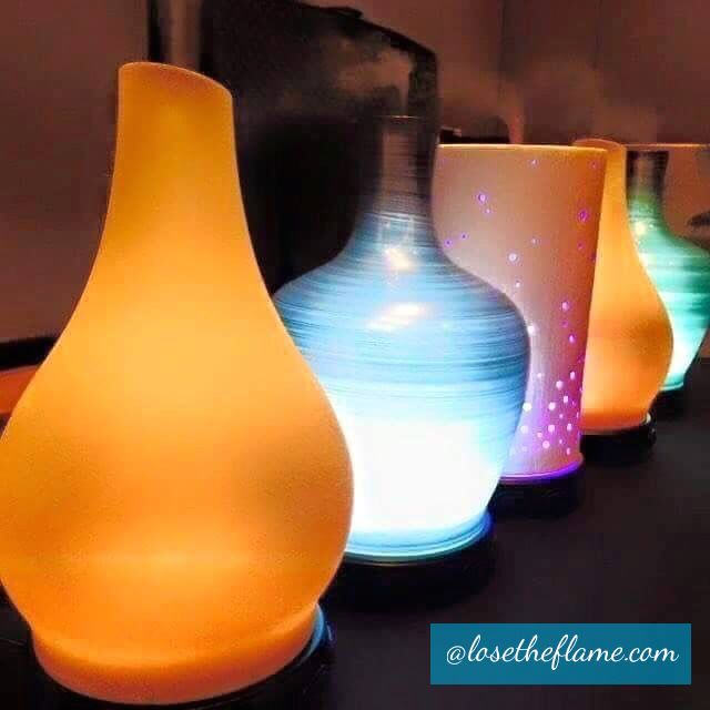 Evolve a handcrafted, striated glass shade to add another layer of aesthetic beauty to your Scentsy experience.https://losetheflame.scentsy.us/shop/p/34540/evolve-diffuser