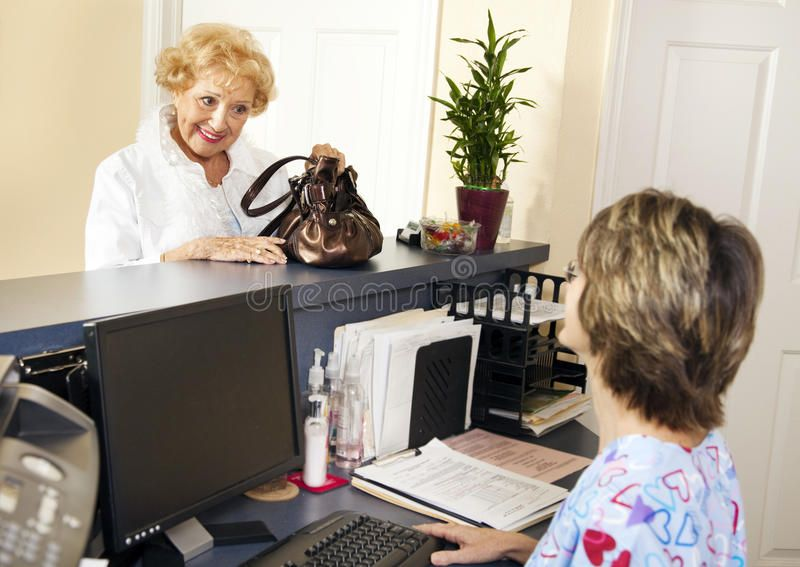 Patient Checks Out. Pretty senior patient checking out of the doctors office , #AD, #Pretty, #senior, #Patient, #Checks, #doctors #ad #doctoroffice