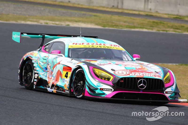 4 Goodsmile Racing Team Ukyo Mercedes Sls Amg Gt3 Nobuteru