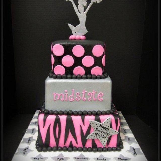 Megaphone Cake Cheerleading Birthday Cake Favorite Recipes For