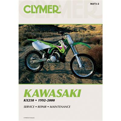 Advertisement Ebay Clymer Repair Manuals M4732 Kawasaki Kx250 1992 2000 In 2020 Clymer Repair Manuals Parts And Accessories