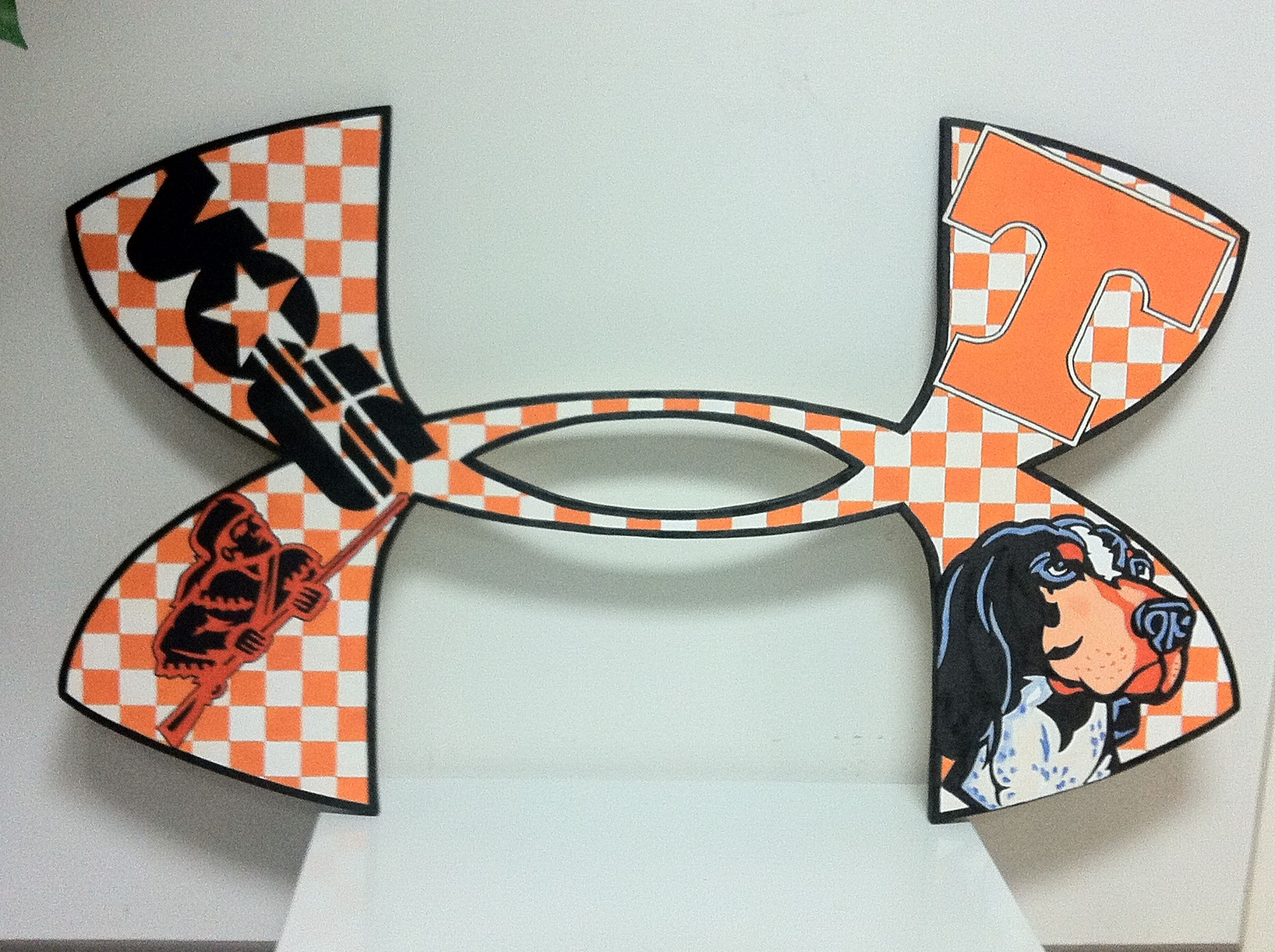Under Armour Logo Tennessee Vols Tennessee