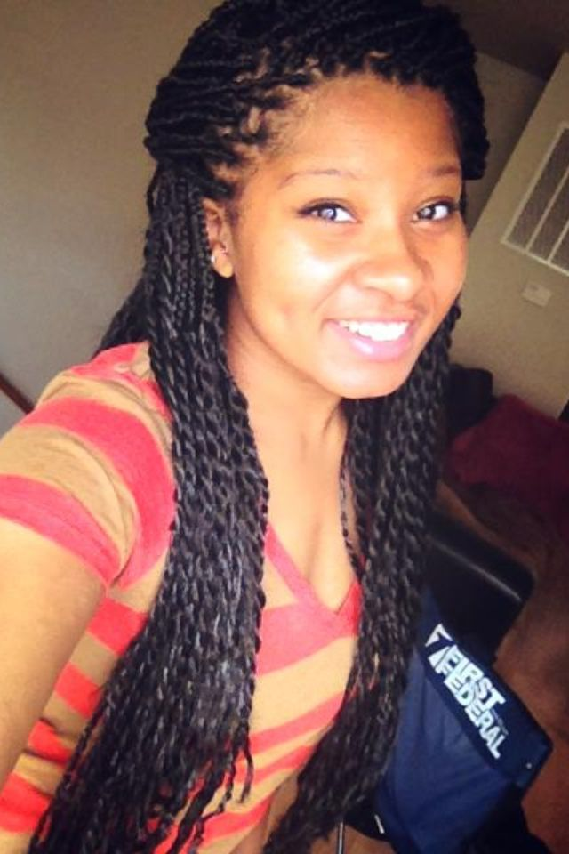 Protective Styling for the Summer Senegalese Twist Natural ...