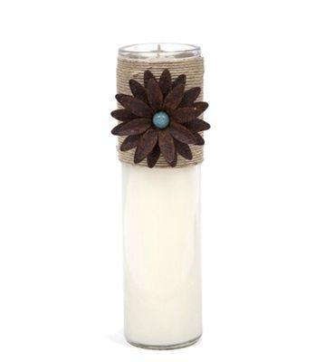 SO Designs & Gifts Embellished Glass Cylinder Scented Candle 11 oz. 💕SHOP💕 www.crownjewel.design