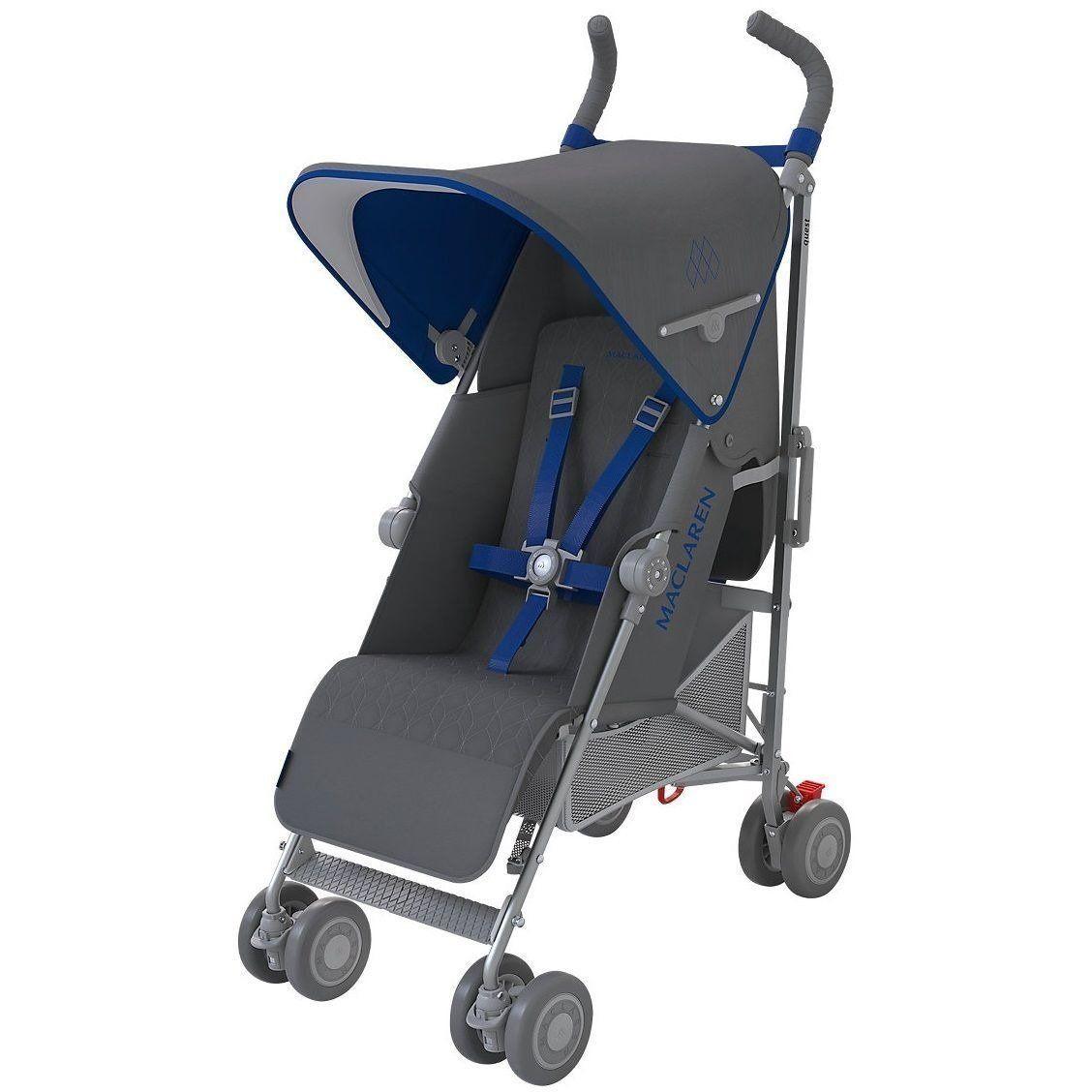 Maclaren Quest Baby Lightweight Single Stroller Charcoal