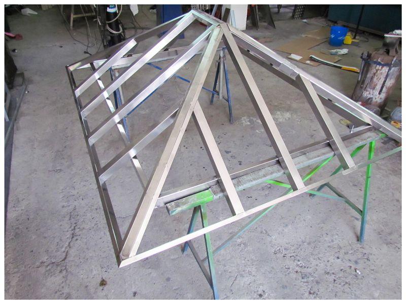 Estructuras met licas metal delgado s l tenerife im genes - Estructuras de metal ...