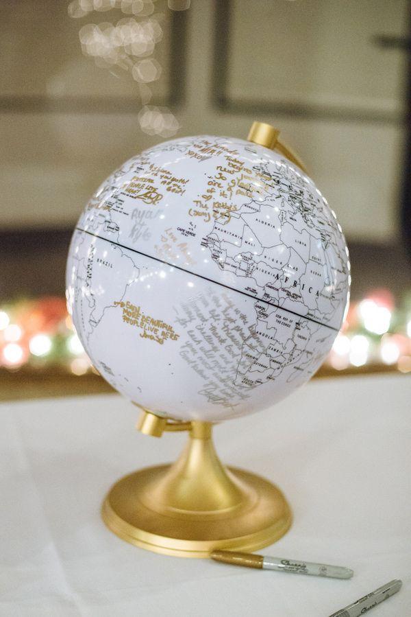 глобус для пожеланий древних времен
