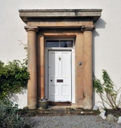 Front Door of The Old Manse Archiestown & Front Door of The Old Manse Archiestown | Some fine architectural ...