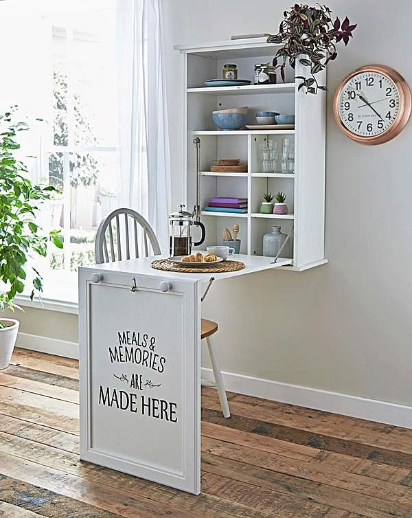 Pin By Bronwyn On Mudroom Laundry Room In 2020 With Images Wall Mounted Folding Table Small Kitchen Tables Wall Table