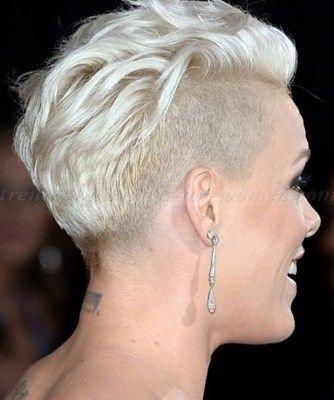 Undercut Hairstyles For Women   Undercut Faux Hawk