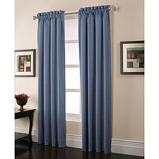Sears Blackout Curtains (living Room For Projector)