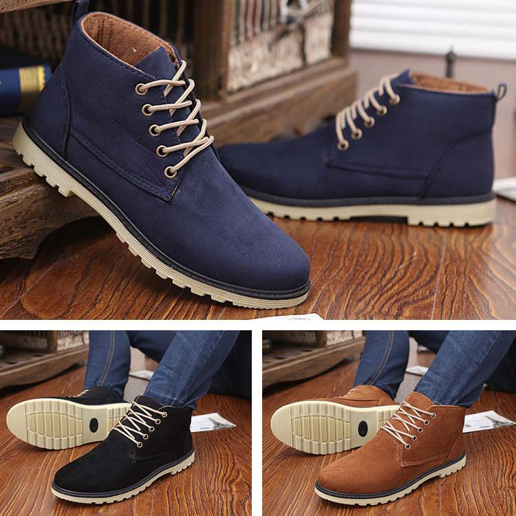 Cheap shoe association, Buy Quality shoe directly from China shoe words  Suppliers: New 2015 PU Leather Men Boots Fashion Warm Cotton Brand ankle  boots Shoes ...