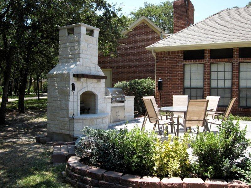 Stone Outdoor Kitchens In Dallas Tx Custom Stone Work Living Disenos De Unas Asador